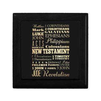Christian Art - Books of the New Testament. Gift Box