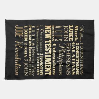 Christian Art - Books of the New Testament. Towel