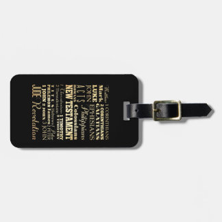 Christian Art - Books of the New Testament. Tags For Luggage