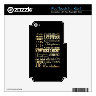 Christian Art - Books of the New Testament. Skin For iPod Touch 4G
