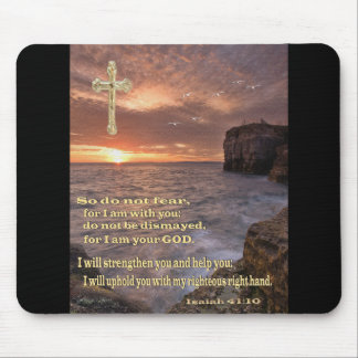 Christian art mouse pad