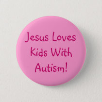 Christian Autism Awareness Pin