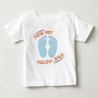 Christian baby t-shirt: Follow Jesus Tee Shirt