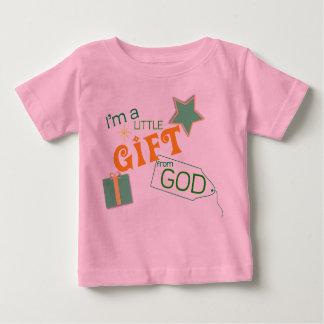 Christian baby t-shirt - Little Gift From God