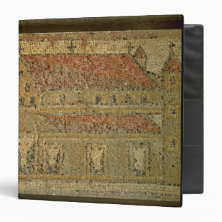 Christian basilica, mosaic pavement, Roman period, 3 Ring Binder