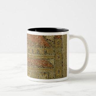 Christian basilica, mosaic pavement, Roman period, Two-Tone Coffee Mug