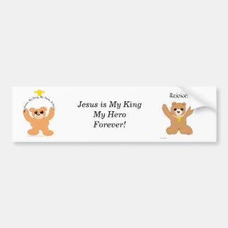 Christian Bears Bumper Sticker