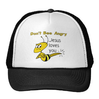 Christian bee design, Don't bee angry Trucker Hat