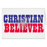 Christian Believer Religious Design Greeting Cards