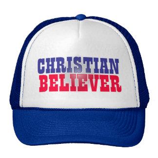 Christian Believer Religious Design Mesh Hats