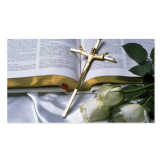 Christian Bible Business Card-See back Double-Sided Standard Business Cards (Pack Of 100)