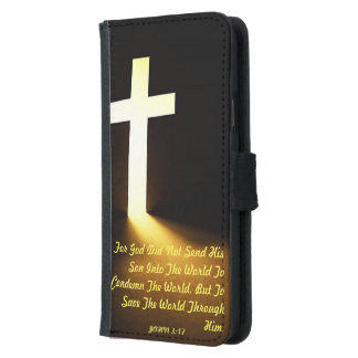 Christian Bible Scripture Galaxy S5 Wallet Case