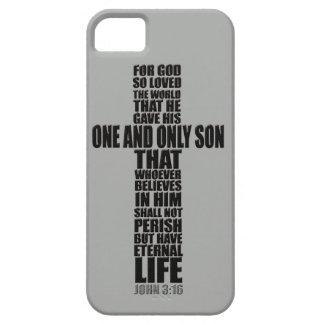 Christian Bible Verse John 3:16 iPhone SE/5/5s Case