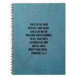 Christian Bible Verse Proverbs 3:5-6 Journal