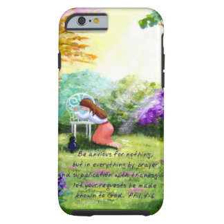 Christian Bible Verse Scripture Creationarts Tough iPhone 6 Case