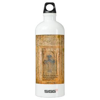 Christian Biblical Quote Renaissance Cross SIGG Traveler 1.0L Water Bottle