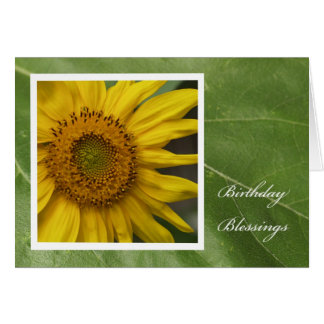 Christian Birthday Card -- Birthday Blessings