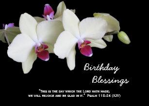 Christian Birthday Cards Blessings