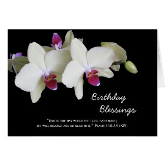 Christian Birthday Cards -- Birthday Blessings