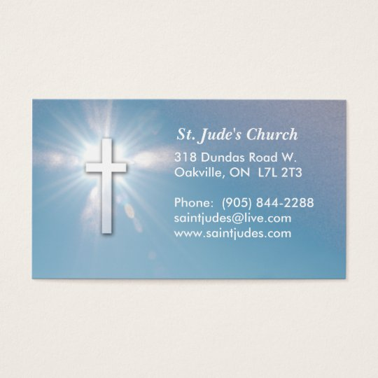Christian Blue Sky Business Card