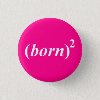 """Christian """"born again"""" button"""