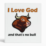 Christian bull saying binders