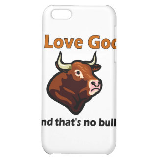 Christian bull saying iPhone 5C cover