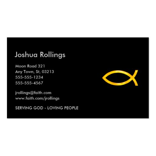 Christian - Business Card