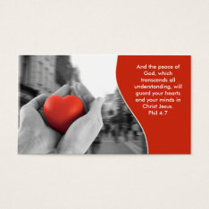 Christian Business Card at Zazzle