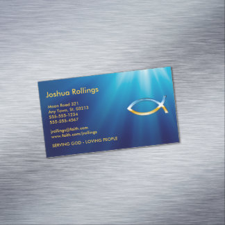 Christian Business Card Magnetic Business Cards (Pack Of 25)
