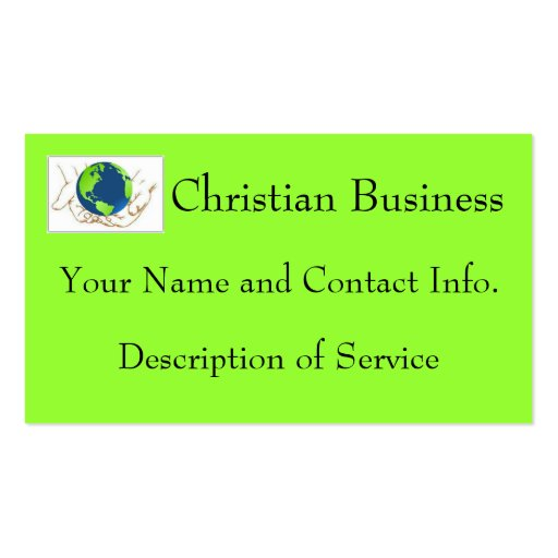 christian business cards zazzle