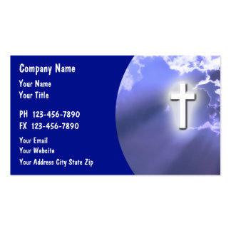 church business cards templates zazzle