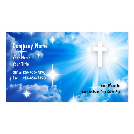 priest clergy business cards bizcardstudio