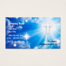 Christian Business Cards at Zazzle