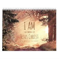 Christian Calendar I am Jesus Bible Verse