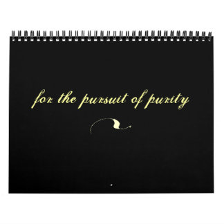 Christian Calender 2013: For the Pursuit of Purity Wall Calendar