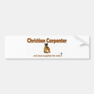 Christian Carpenter 2 gift design Bumper Sticker