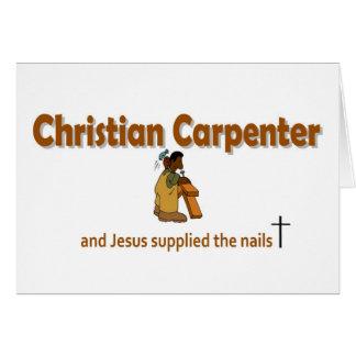 Christian Carpenter 2 gift design Card