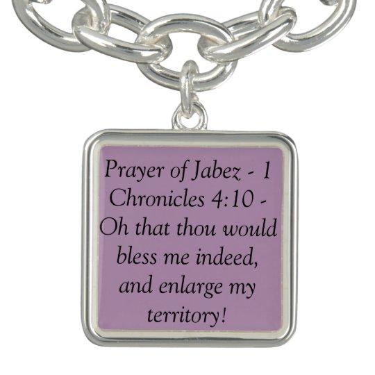 Christian Charm Bracelets: Christian Charm Bracelet - Prayer Of Jabez