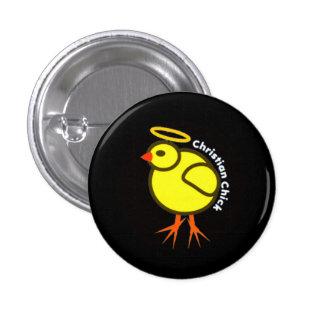 Christian Chick Pinback Button