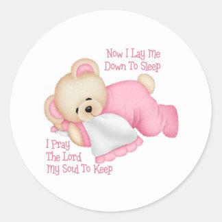 Christian Children's Gift Classic Round Sticker