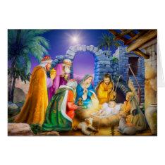 Christian Christmas Card at Zazzle