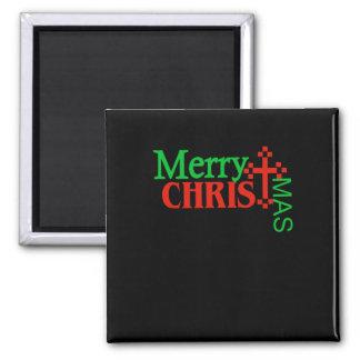 Christian Christmas Gift For Men & Women Merry Magnet