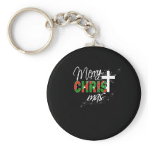 Christian Christmas Gift Merry Christmas With Keychain