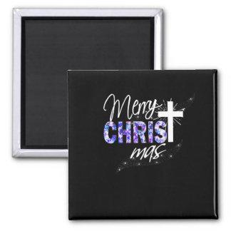 Christian Christmas Gift Merry Christmas With Magnet