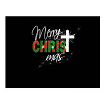 Christian Christmas Gift Merry Christmas With Postcard