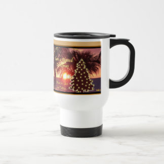Christian Christmas Gifts with Your Text or Delete Travel Mug