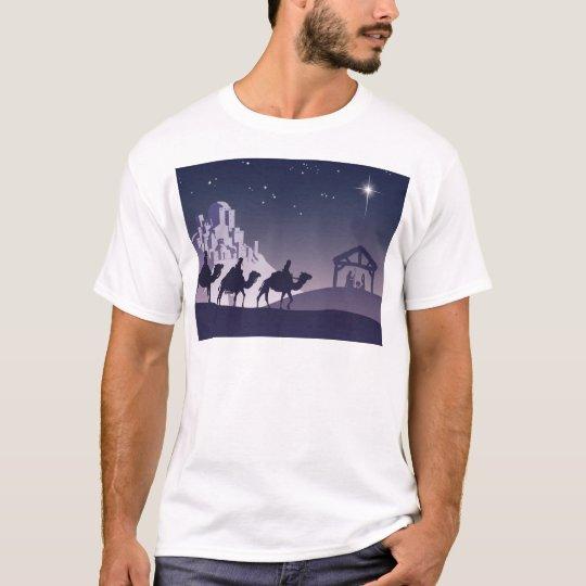 Christian Christmas Nativity Scene T-Shirt