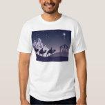 Christian Christmas Nativity Scene Tee Shirts