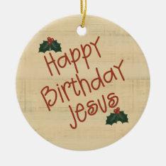 Christian Christmas Ornament at Zazzle